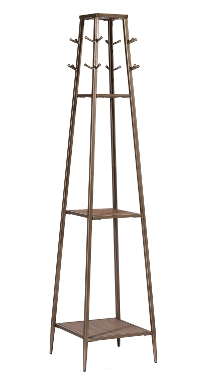 Crofton Coat Rack - Silver