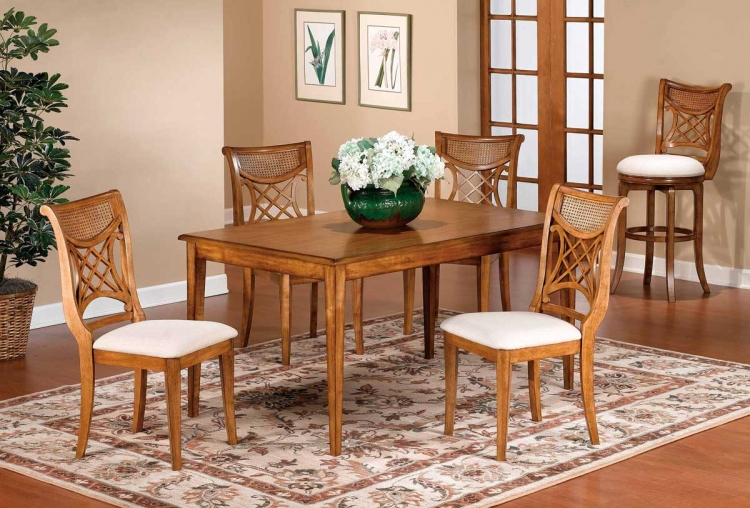 Glenmary Retangular Dining Collection - Oak