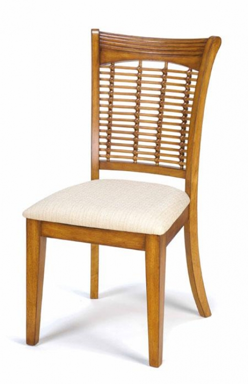 Bayberry Wicker Chair - Oak - Hillsdale