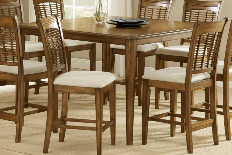 Hillsdale Bayberry Counter Height Dining Collection Oak