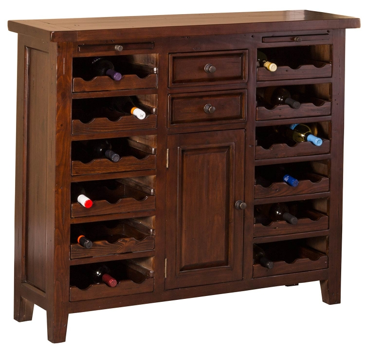 Tuscan Retreat Wine Console/Storage Unit