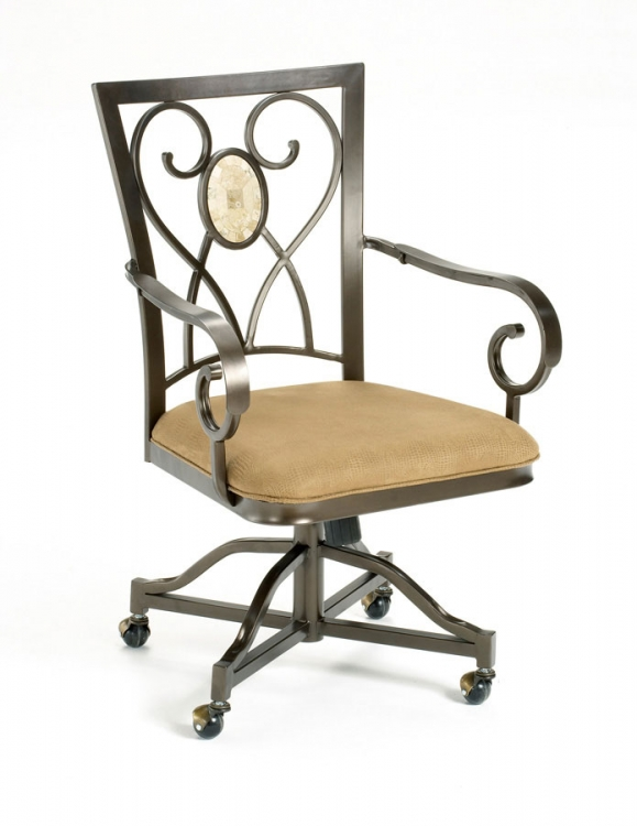 Hillsdale Brookside Oval Caster Chairs