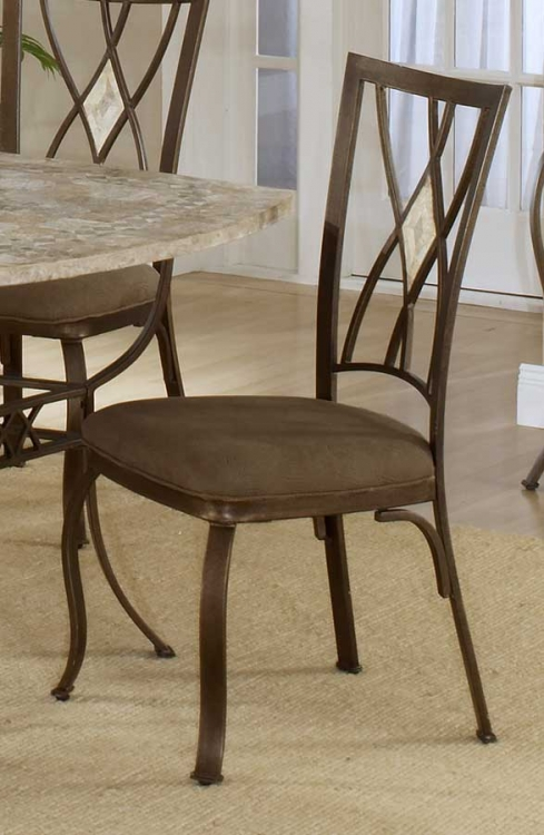Brookside Diamond Fossil Back Dining Chair