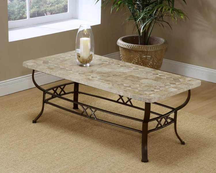 Brookside Fossil Coffee Table - Hillsdale