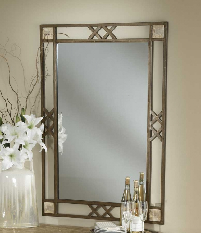 Brookside Fossil Mirror - Hillsdale