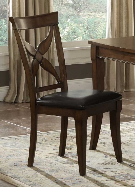 Chenoweth Dining Chair with Brown Vinyl