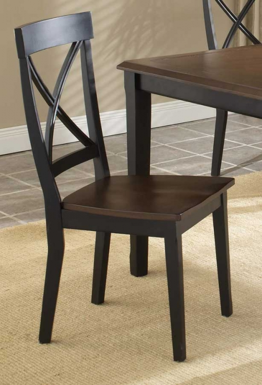 Englewood X Back Side Chair - Hillsdale
