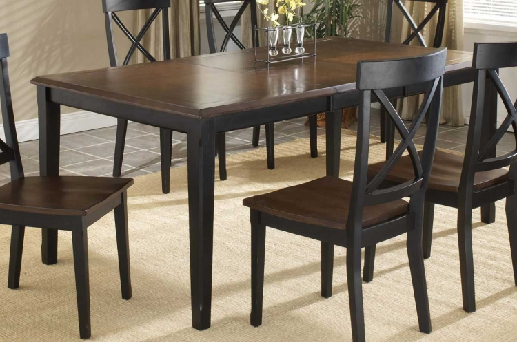 Englewood Rectangle Leg Extension Table - Hillsdale