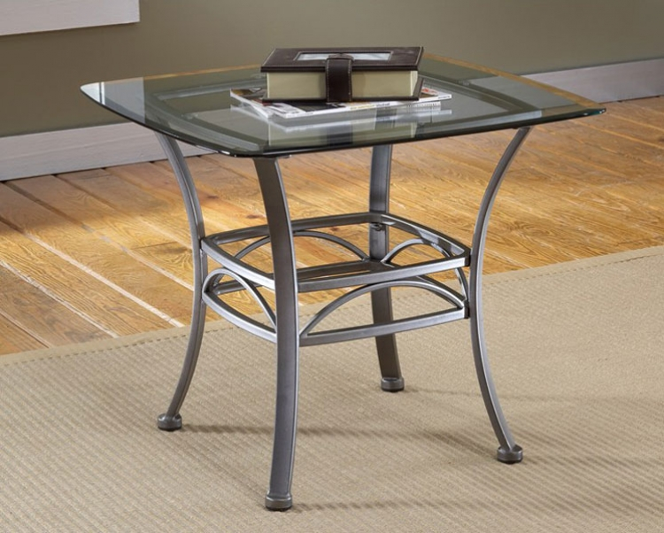 Abbington Square End Table - Hillsdale