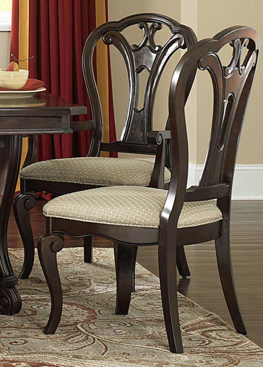 Grandover Dining Chair - Dark Cherry