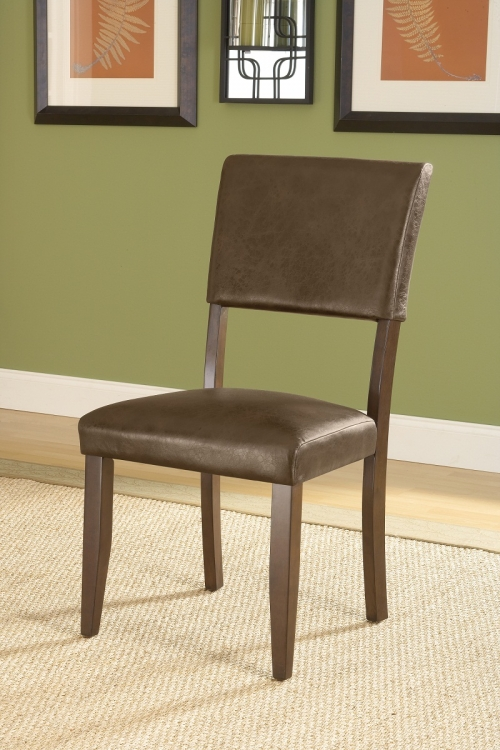 Tarranto Parson Dining Chairs - Dark Cherry - Hillsdale
