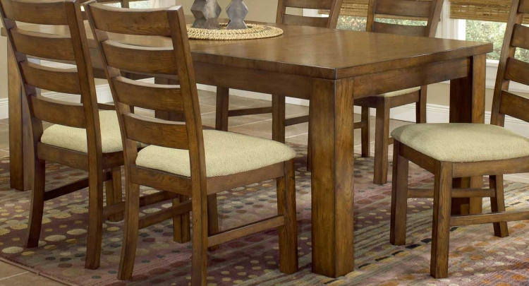 Hemstead Dining Table with Leaf