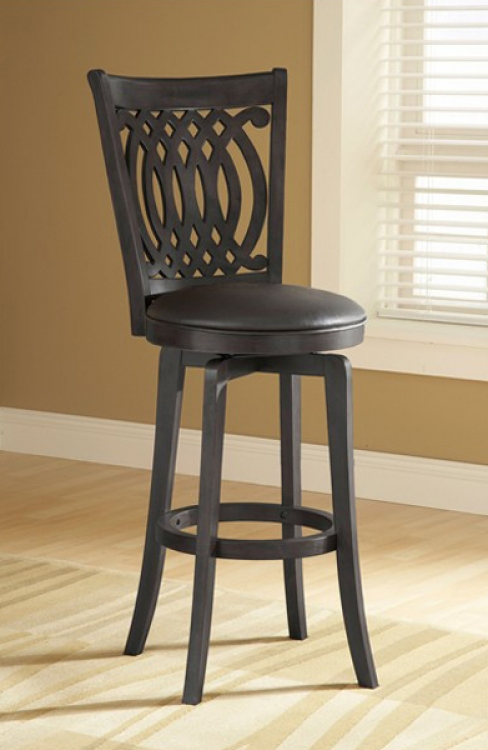 Van Draus Swivel Counter Stool - Hillsdale