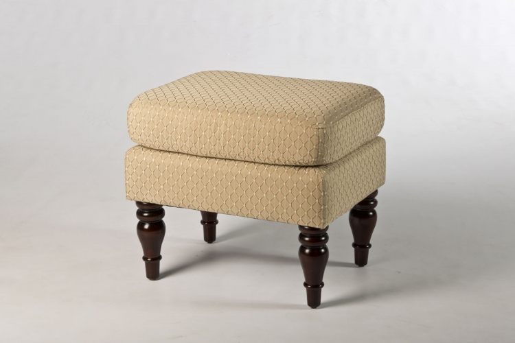 Heritage Backless Vanity Stool - Cherry - Hillsdale