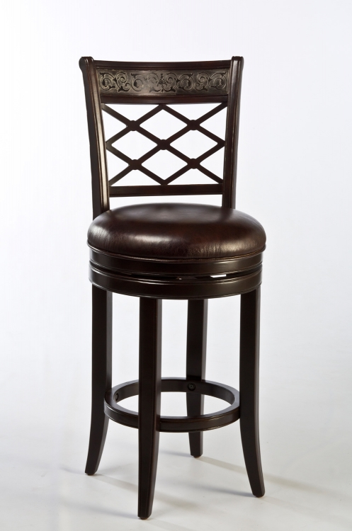 Spalding Swivel Counter Stool - Espresso