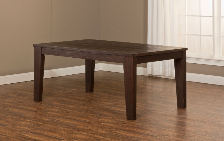 Brooklawn Dining Table - Smoke Brown