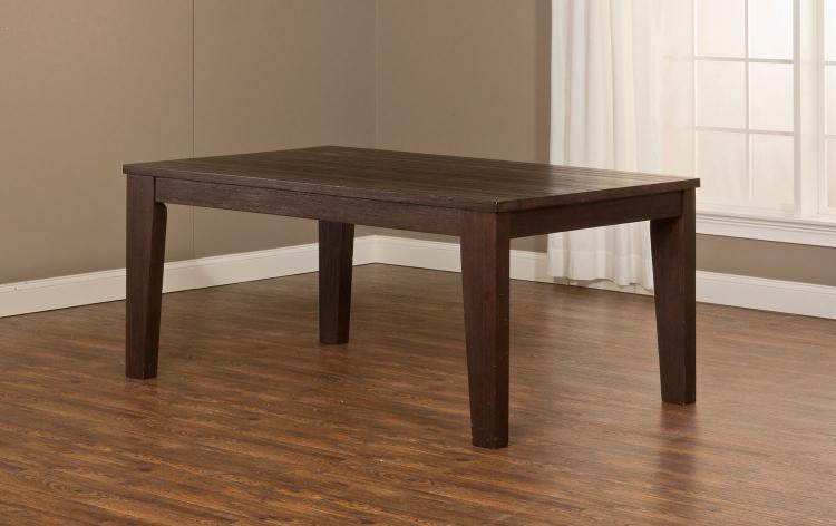 Brooklawn Dining Table - Smoke Brown