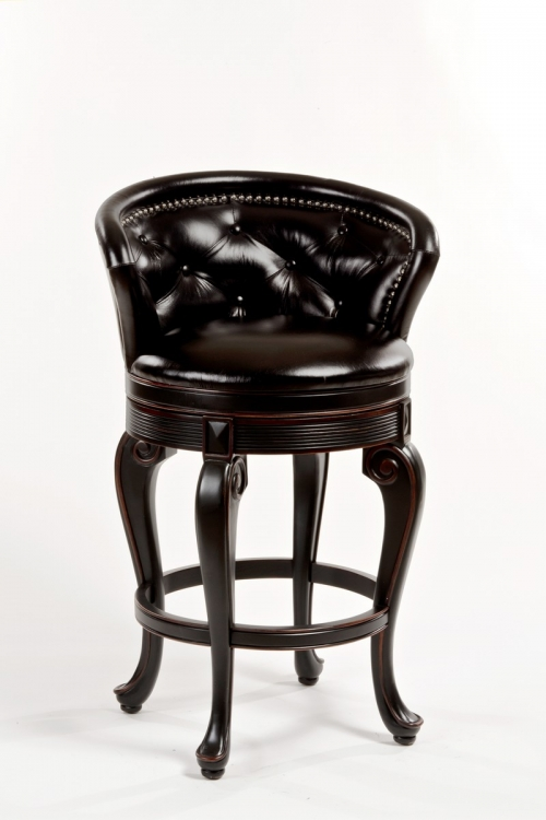 Beckett Swivel Counter Stool - Brown PU