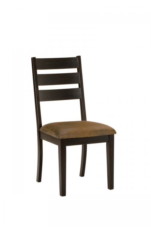 Killarney Dining Chair - Black/ Antique Brown