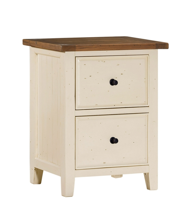 Tuscan Retreat File Cabinet - Country White