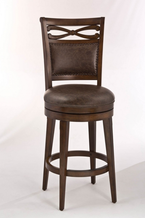 Seaton Springs Counter Stool - Weathered Walnut