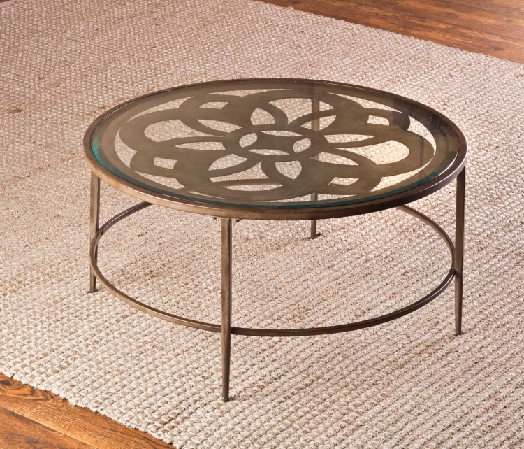 Marsala Coffee Table Set - Glass