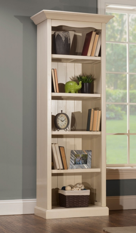 Tuscan Retreat Small Bookcase - Solid Country White