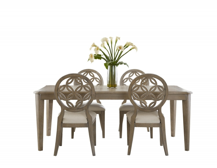 Savona 5-Piece Dining Set - Vintage Gray