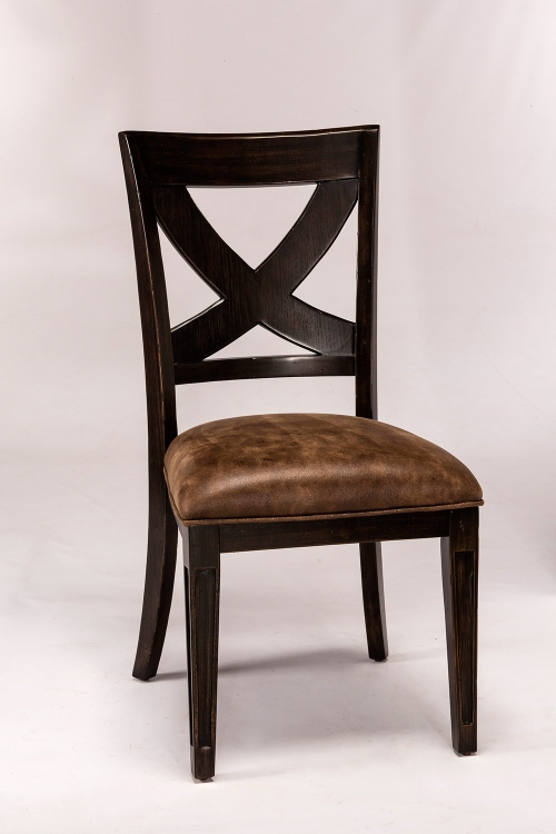 Santa Fe Dining Chair - Distressed Espresso