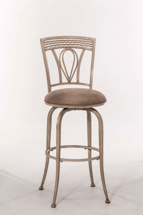 Napier Swivel Counter Stool - Aged Ivory