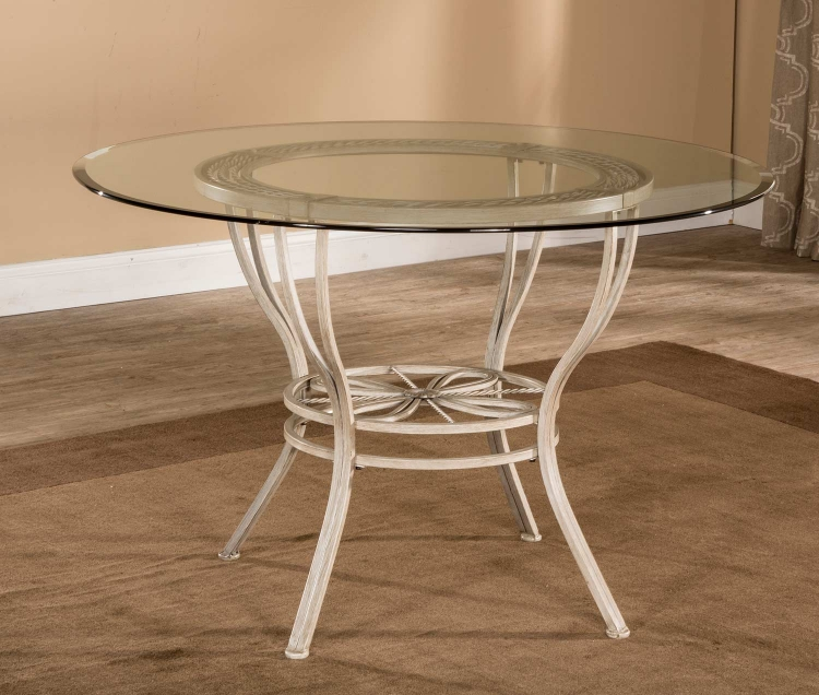 Napier Round Dining Table - Aged Ivory