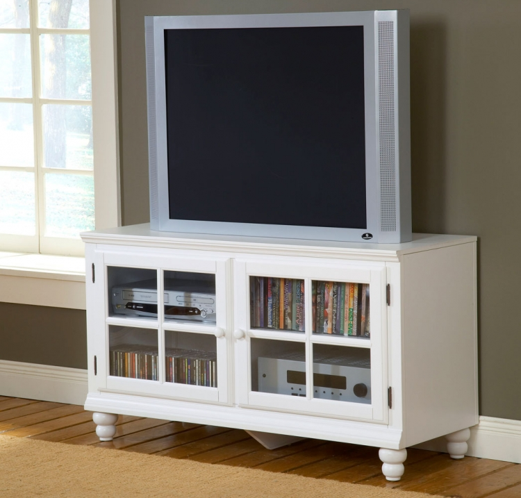 Grand Bay 48in Entertainment Console - White - Hillsdale