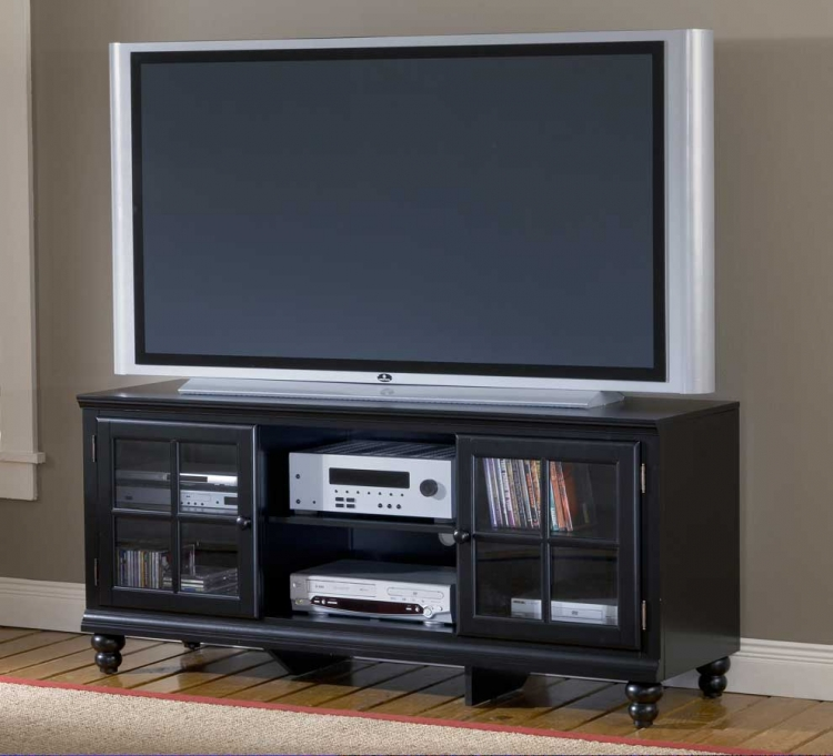 Grand Bay Large Entertainment Console - Black - Hillsdale