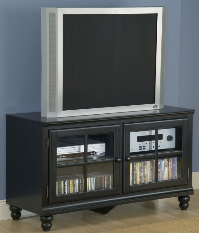 Grand Bay Small Entertainment Console - Black - Hillsdale