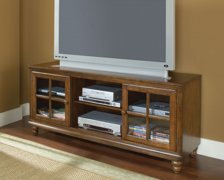 Grand Bay 61in Entertainment Console - Warm Brown - Hillsdale