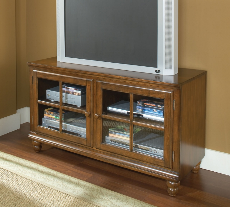 Grand Bay 48in Entertainment Console - Warm Brown - Hillsdale