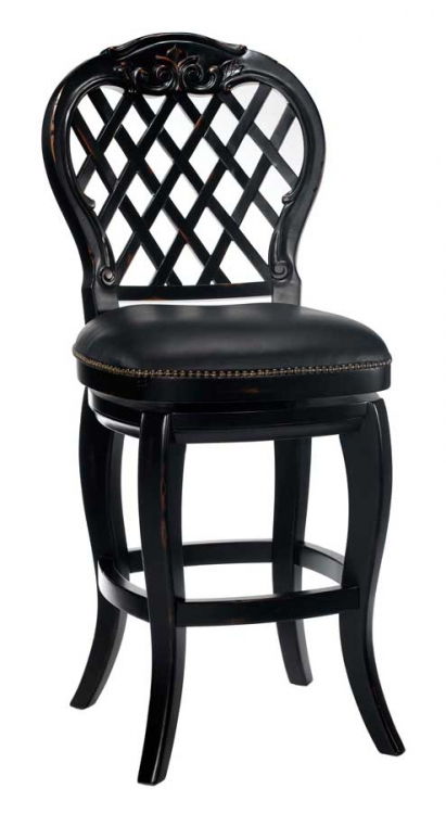 Braxton Wood Bar Stool - Hillsdale