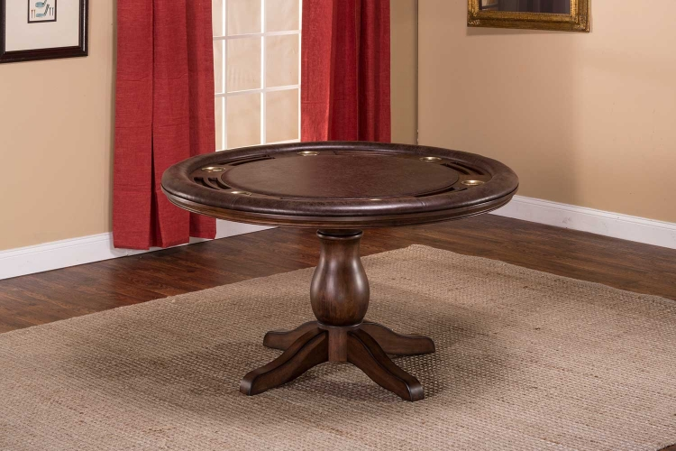 Chiswick Game Table - Brown Cherry
