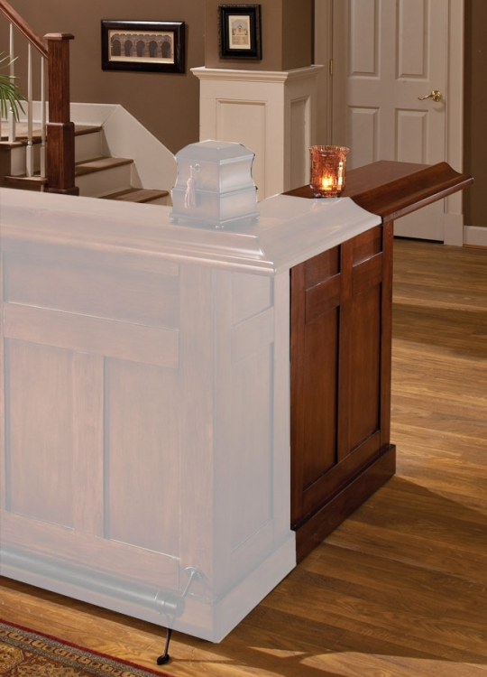 Hillsdale Classic Cherry Large Bar Side