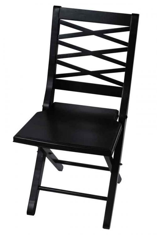 Eastside Cherry Finish Folding Chair - Hillsdale
