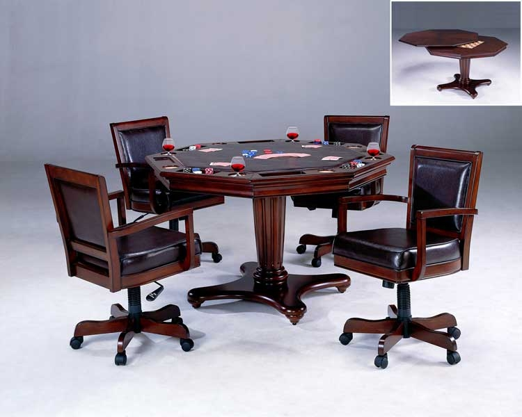 Ambassador Game Table Set - Hillsdale