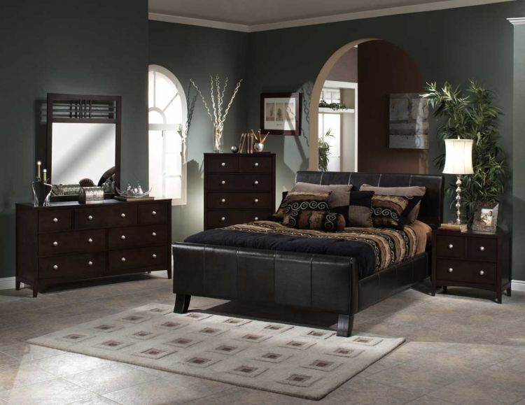 Brookland Bedroom Collection with Tiburon Case - Hillsdale