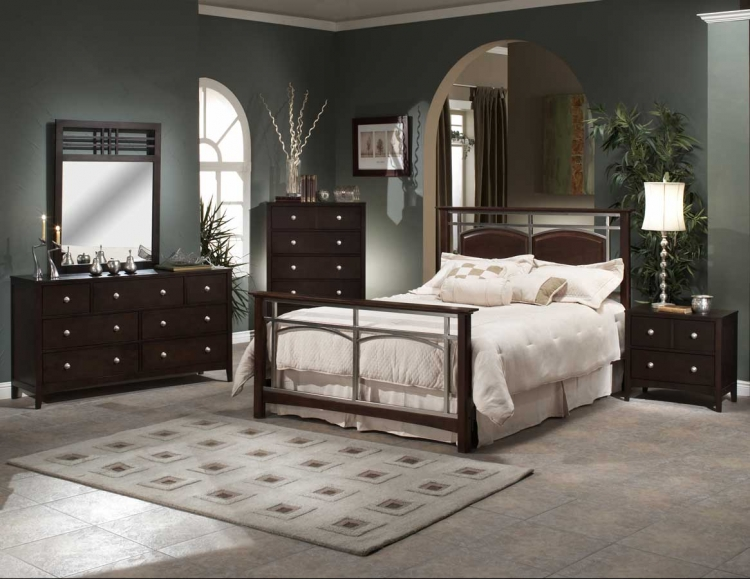 Banyan Bedroom Collection with Tiburon Case Pieces - Hillsdale