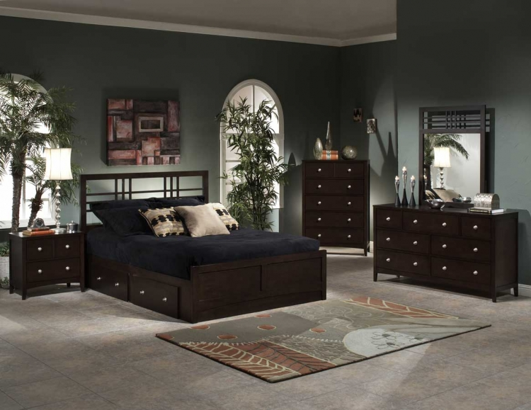 Tiburon Kona Storage Bedroom Collection - Hillsdale