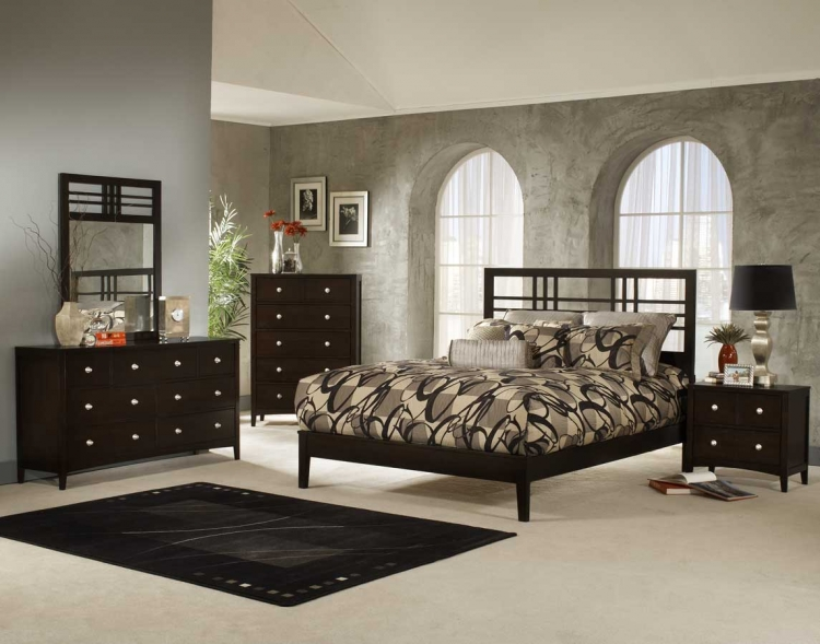 Tiburon Kona Platform Bedroom Collection - Hillsdale