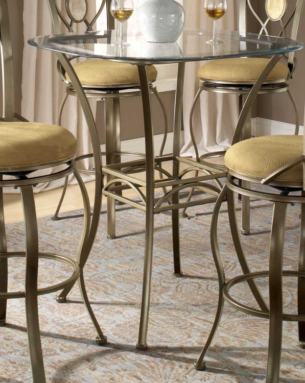 Brookside Bar Height Bistro Table - Hillsdale