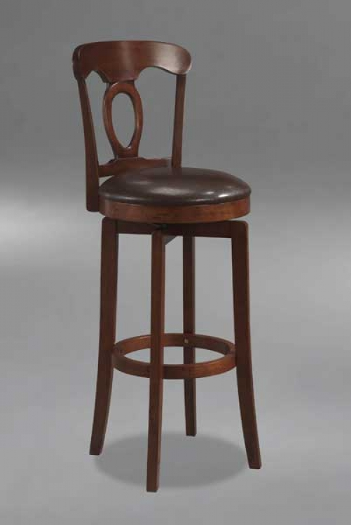 Corsica Swivel Bar Stool in Brown