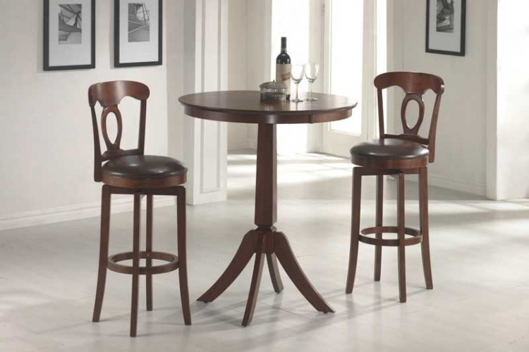 Plainview Bistro Table Set with Corsica Stool - Hillsdale