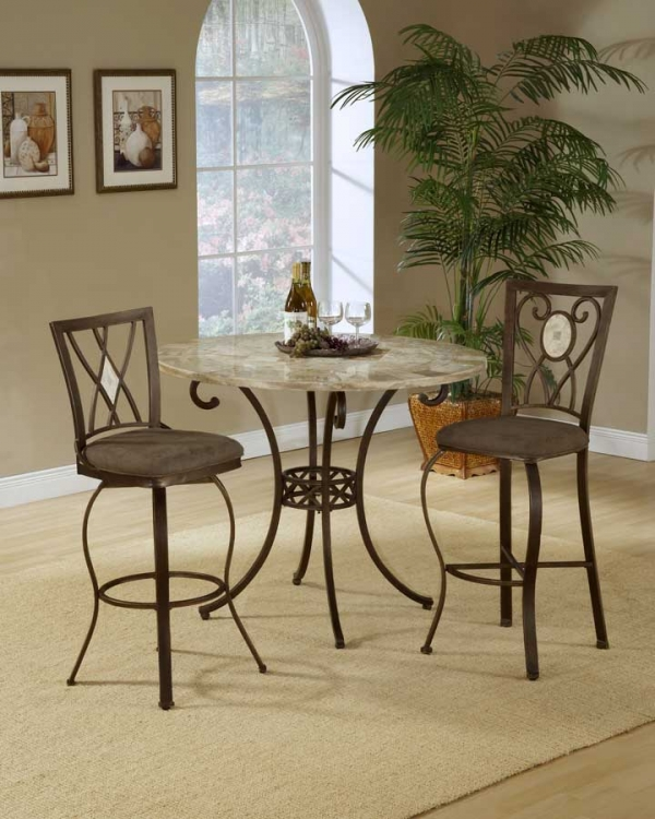 Brookside Counter Height Dining Collection - Oval Back - Hillsdale