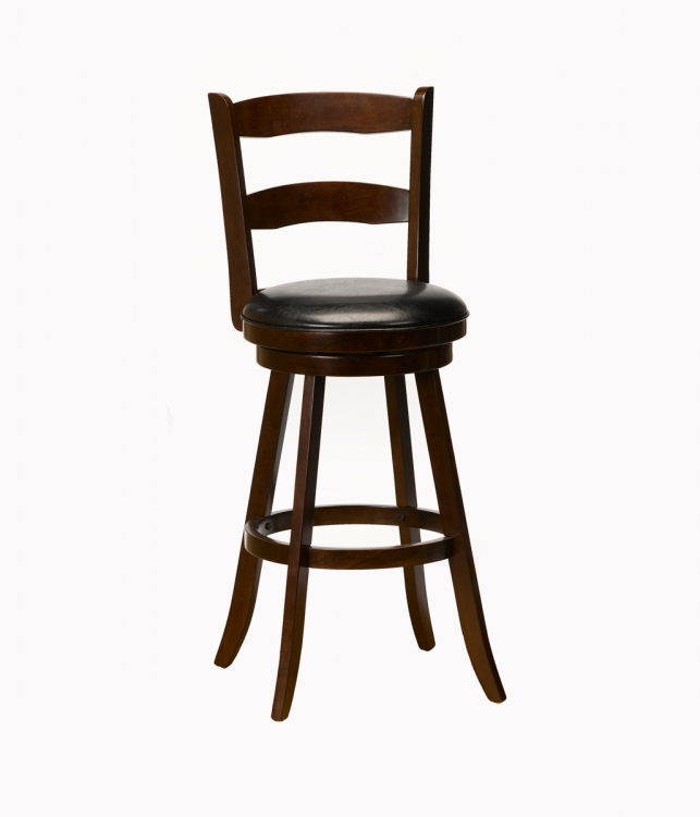 Eastpointe Swivel Counter Stool - Cherry